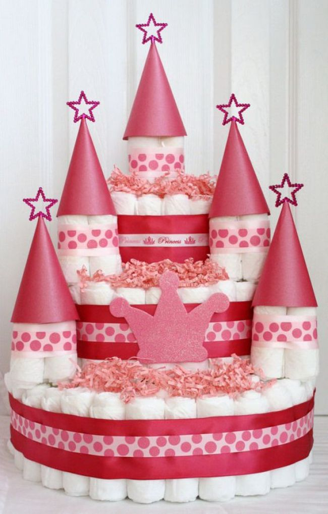 gâteaux de couches-neufmois-girly