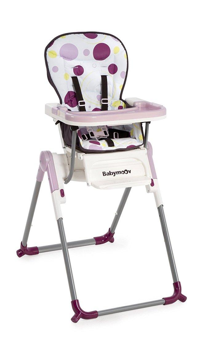 Babymoov Chaise Haute Slim Prune