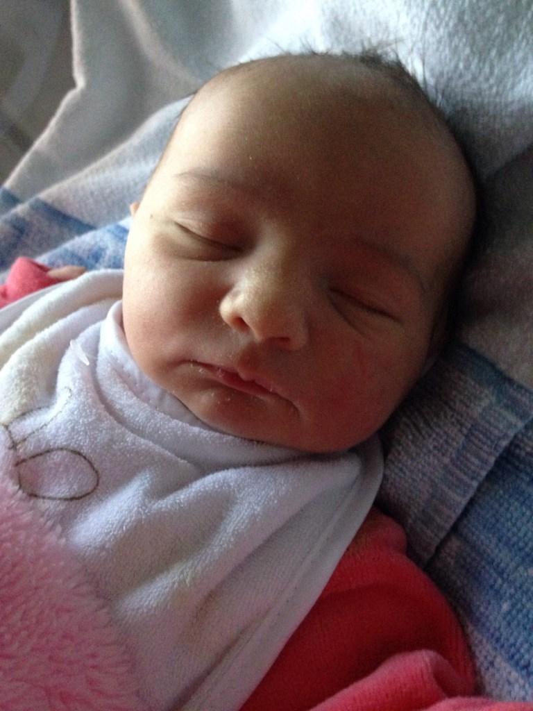Alice, née le 6 décembre