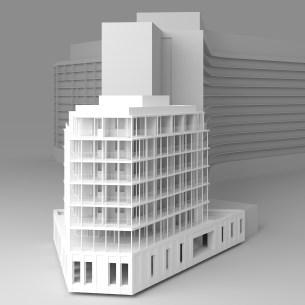 CONSTRUCTION D'UN ENSEMBLE DE 50 LOGEMENTS SOCIAUX ET UN ESPACE CULTUREL À PARIS 14 - RIVP