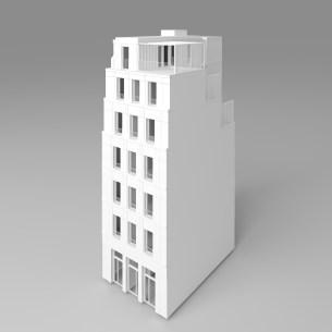 CONSTRUCTION EN PIERRE ET BOIS D'UN ENSEMBLE DE 6 LOGEMENTS SOCIAUX ET UN COMMERCE À PARIS 14 - RIVP