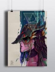 Poster «Aries» de Ikan