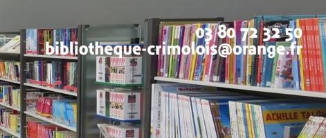Réouverture de la bibliothèque de la commune déléguée de Crimolois