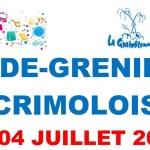 Vide Grenier de la Graivôlonne à Crimolois le dimanche 4 juillet prochain.