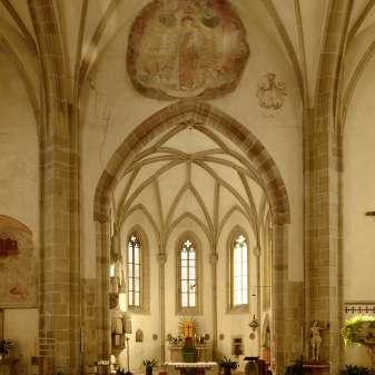 In der Villner Kirche / nella Chiesa di Villa