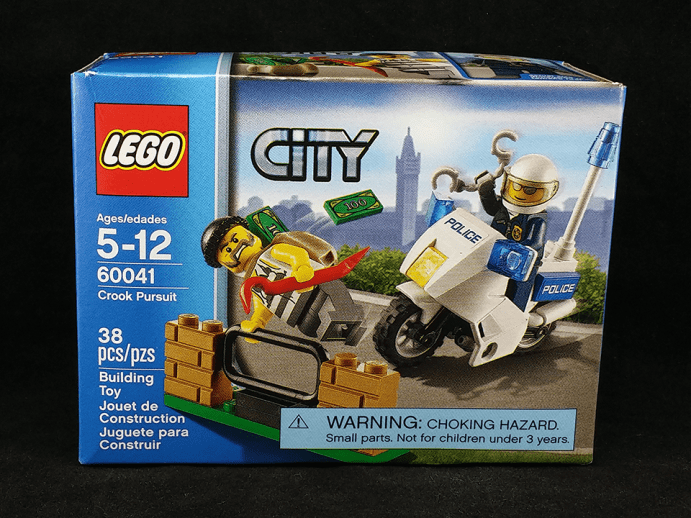 Lego City Crook Pursuit Box - Front