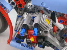 Lego Technic #42036 Street Motorcycle Engine