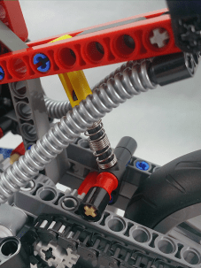 Lego Technic #42036 Street Motorcycle Rear Suspension