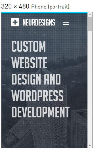 False Bottom Website Issue