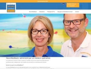 Website BrainBalance Neurofeedback Institut Französisch