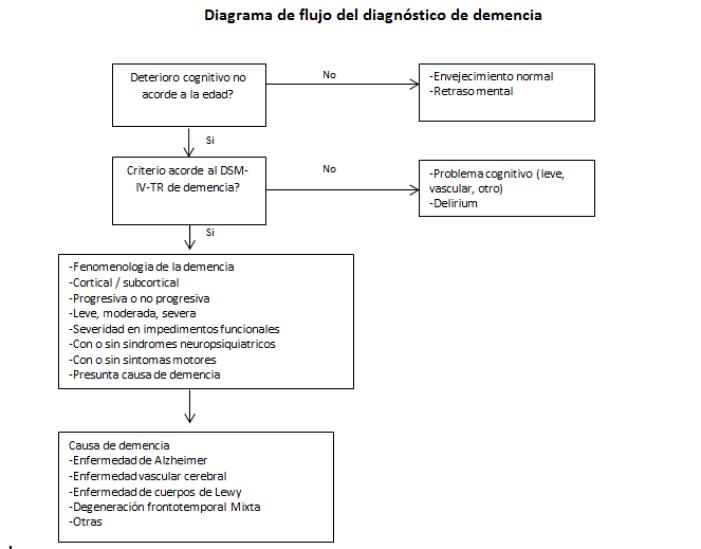 ¿Cómo se diagnostica la demencia?