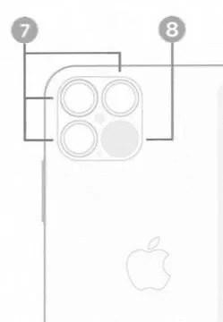 今秋発売予定のiPhone 12 Proには、LiDARスキャナ搭載か。画像がリークされる。