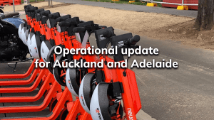 Operational update for Auckland and Adelaide