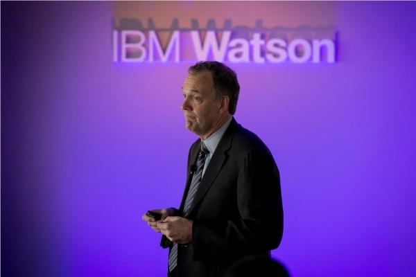 Michael Rhodin, the new head of IBM Watson Group.