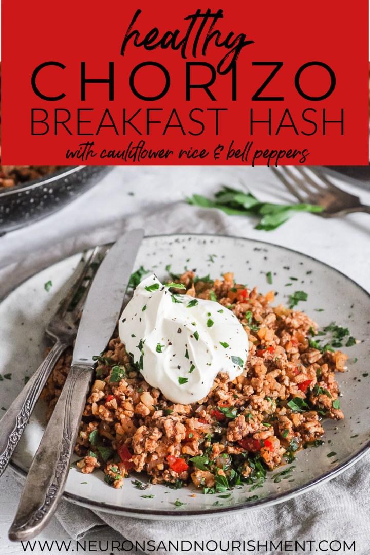 Healthy Chorizo Breakfast Hash