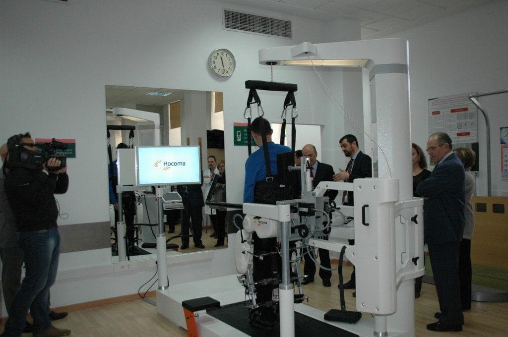 Inauguración del Lokomat en el Centro de Daño Cerebral Nisa Valencia al Mar
