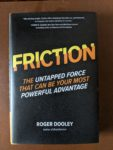 Friction by Roger Dooley - sensory dust jacket