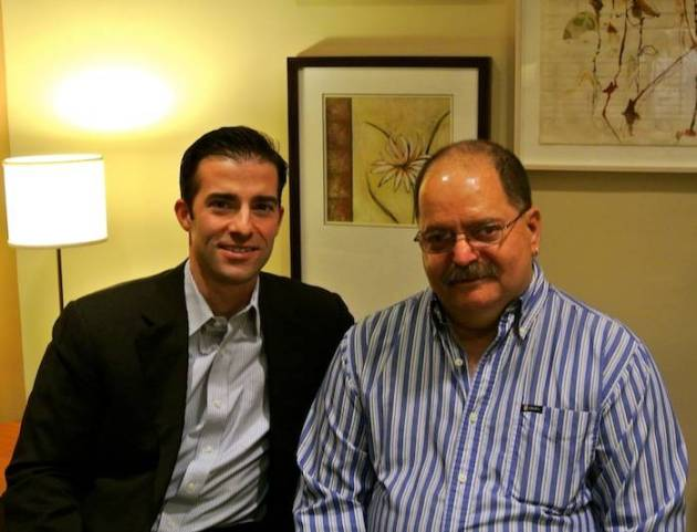 Dr. Anthony D'Ambrosio with patient Phil H. from New Jersey
