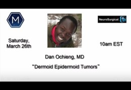 Dan Ochieng MD,  Neurosurgeon from Capetown, South Africa