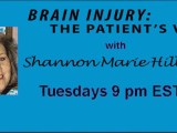 Patient's Brain Injury Support Group Webcast broadcast with Shannon