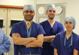 FIRST PATIENT TREATED WITH PIONEERING DBS SURGERY
