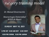"""(was LIVE, now recorded), """"True Head"""", Training Model for Head, with Russian Neurosurgery Resident, Manuel Encarnacion MD"""