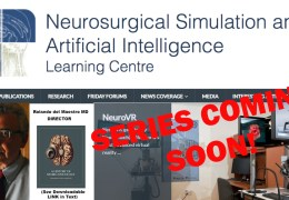 """SERIES ANNOUNCED:…………….. WEBCAST SERIES ON """"ARTIFICIAL INTELLIGENCE IN NEUROSURGERY"""" to be presented by Rolando del Maestro MD"""