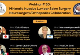 "RECORDED LIVE,  AUGUST 6, 2021 , ""Minimally Invasive Lumbar Spine Surgery: Neurosurgery/Orthopedic Collaboration"""
