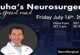 Recorded LIVE July 16, 2021,  Juha's China Neurosurgery Grand Rounds, with Pascal Jabbour MD of Jefferson presenting……………