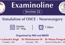 RECORDED LIVE, August 22, 2021 FROM INDIA…………………, Examinoline #22: Simulation of OSCE