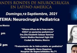 GRABADA, VIVO, 12 Septiembre 2021, Gran Rondes de Neurocirugia de LatinoAmerica, a las 1 pm tiempo mexico