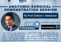 """RECORDED LIVE MAY 16, 2021, Day #2 of """"First Medical Student World Congress of Neurosurgery"""", at 9 am Crete time, with Saleem Abdulrauf MD leading off….."""