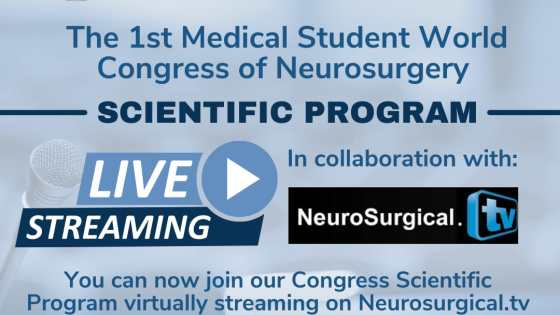 """Recorded LIVE, October 15, 2021…….. """"First Medical Student World Congress of Neurosurgery"""" from Crete"""