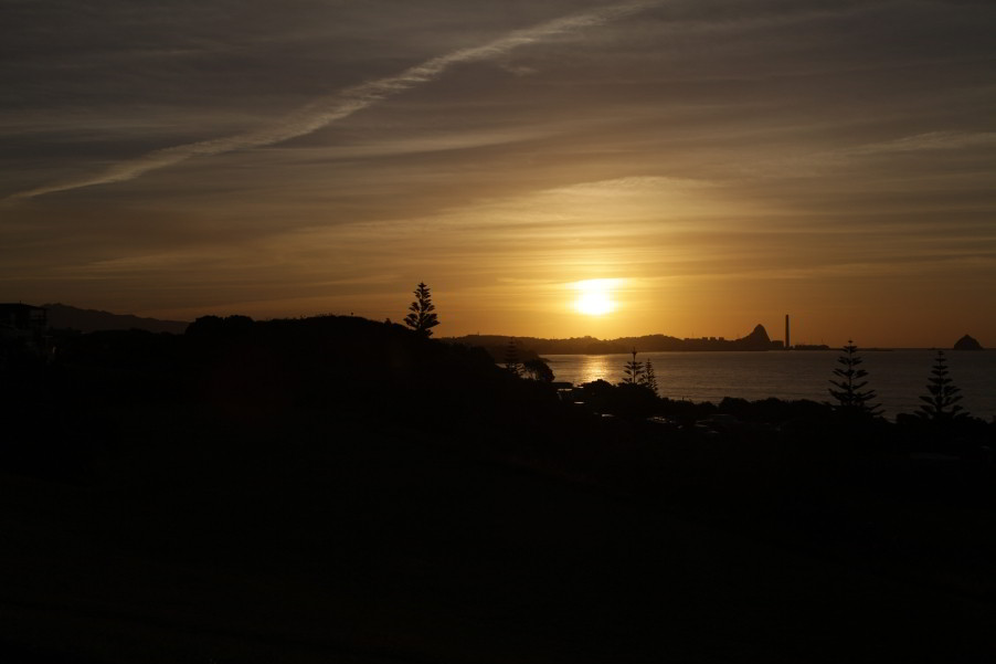 New Plymouth - Sunset