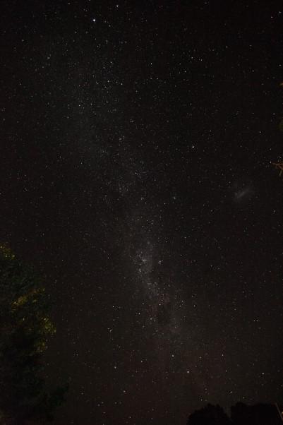 Nacht über Neuseeland
