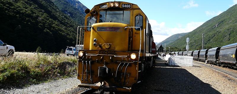 Zwischenstation am Arthur's Pass