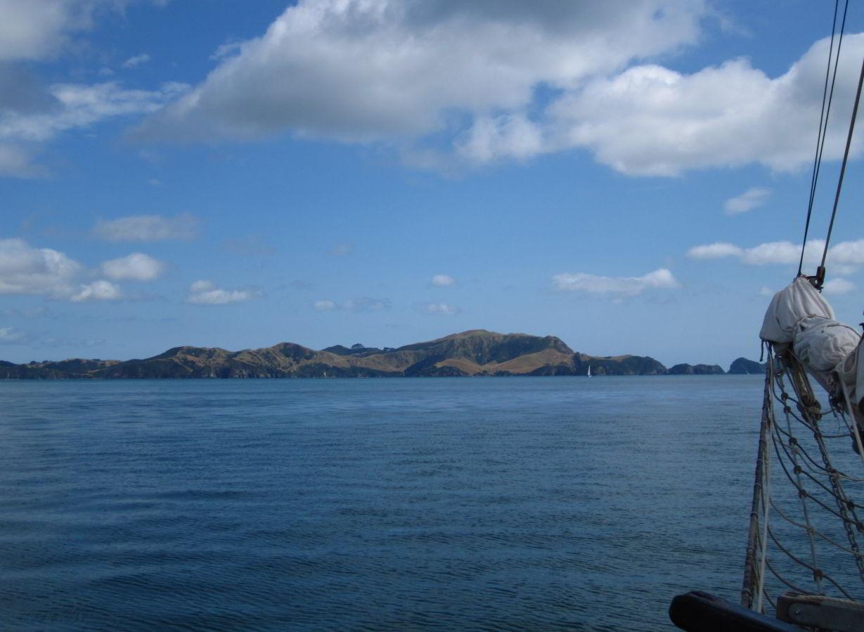 Alles blau - Neuseeland ist schön