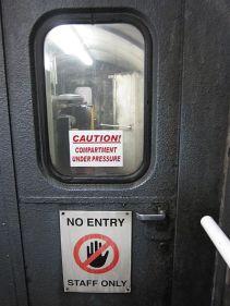 Blick in den Maschinenraum