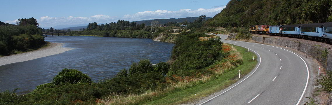 Unterwegs nach Christchurch mit dem TranzAlpine