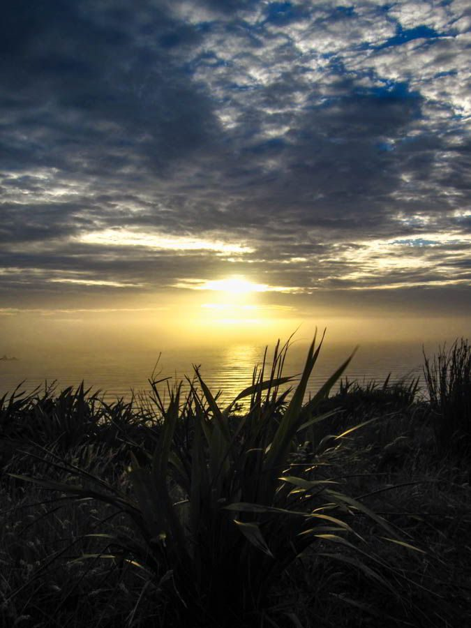 Sonnenuntergang am Cape Reinga