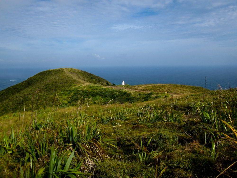 Ausblick auf den Leuchtturm von Cape Reinga
