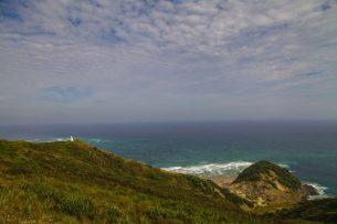 Cape Reinga - Tasmansee und Pazifik fließen zusammen