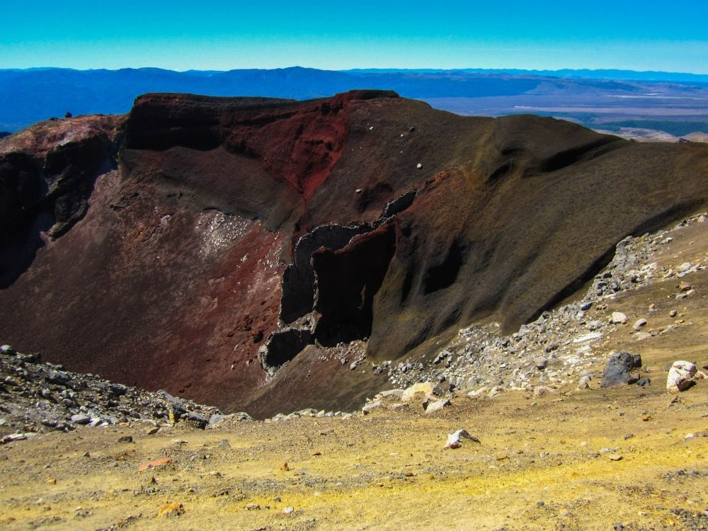 Tongariro Alpine Crossing - Ausblicke