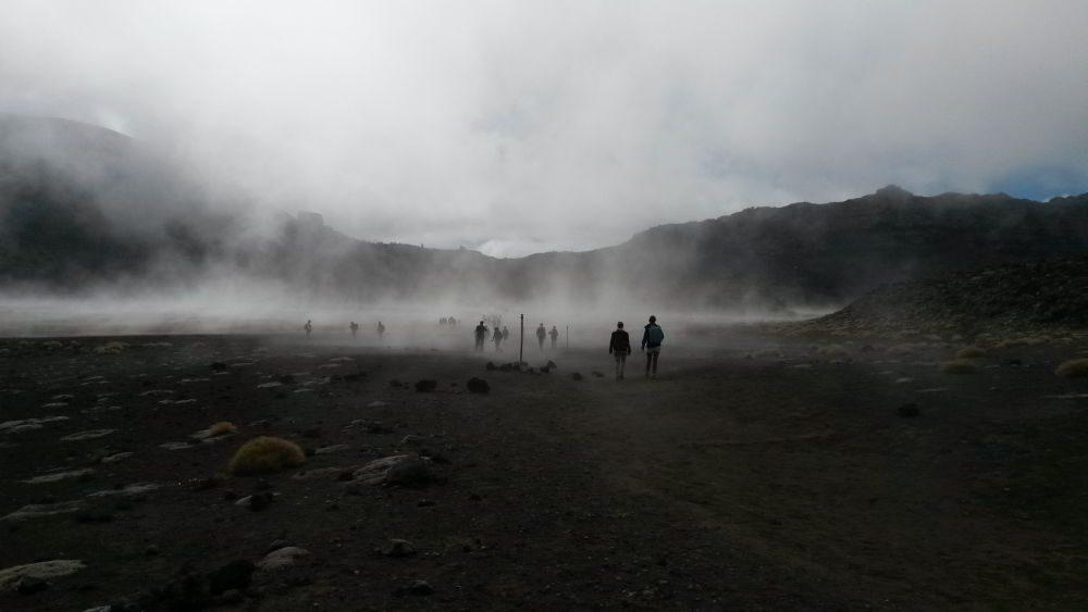 Tongariro Alpine Crossing - Nordinsel