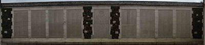 ANZAC - The Tyne Cot Memorial in Passendale, Belgien