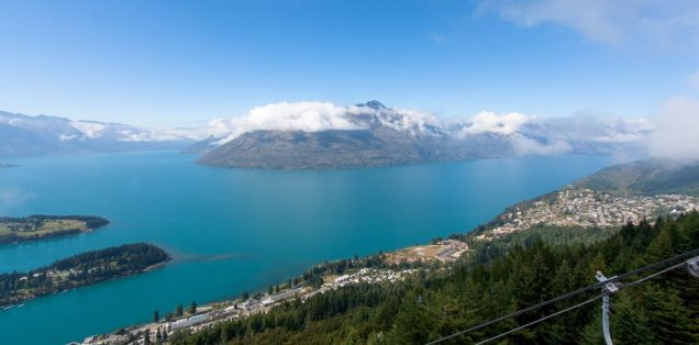 Queenstown und Lake Wakitipu