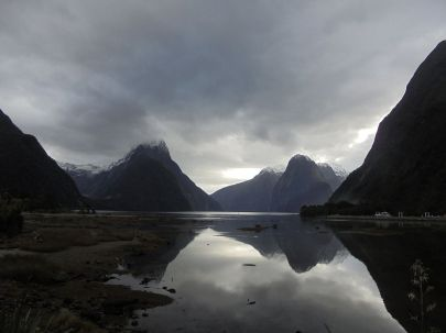 Mitre Peak am Milford Sound