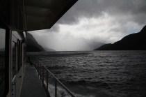 Regnerischer Doubtful Sound