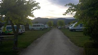 Takaka Camping and Cabins - Aussicht im Morgengrauen