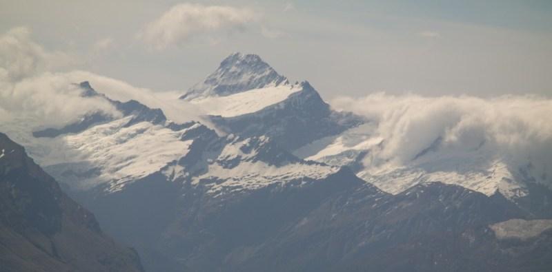 Mt. Aspiring mit seinen 3.033 Metern. Damit ist er der 14. höchste Berg Neuseelands
